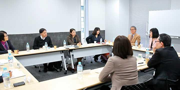 日本の人事リーダー会の様子